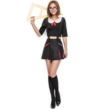 new design cosplay secretary sexy korean high school teacher uniform wholesale