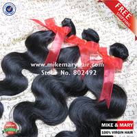 Best selling 5a stylish body wave mink brazilian hair sew in weave reinforced weft tangle free no shed