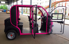 NEW model of fully enclosed electric tricycles /rickshaws/cyclomotors 21000014