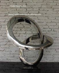 Surface Polishing Stainless Steel Sculpture