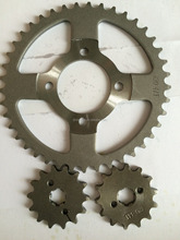 custom sizes steel material motorcycle sprockets and Sprocket wheel in China