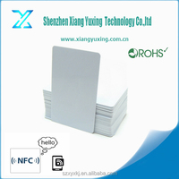 RFID PVC sample employee id cards/TK4100 card