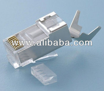 RJ45 Cat.6A_Cat.7 8P8C Shielded Plug