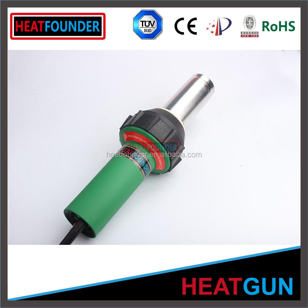 High quality temperature adjustable handheld hot air soldering gun in stock