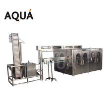 zhangjiagang Aqua machinery mineral pure water bottling machine / bottled water machine