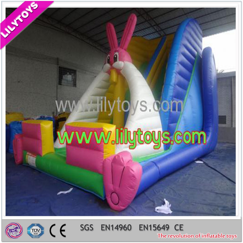 Inflatable publicity products slide
