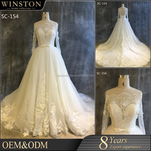Best Selling expensive luxury ladies fashion 2016 bridal wear wedding dress