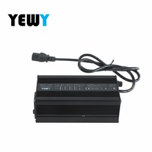 360w 24v 12a 7s li-ion battery charger for ebike EV car battery charger Aluminium Alloy with Fan