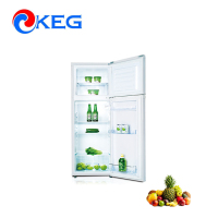 175L Home And Hotel Energy Saving Portable OEM Double Door Top Freezer Fridge Japan Used Refrigerator