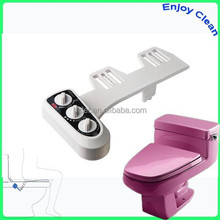 Hot and cold water toilet seat bidet,combined toilet and bidet