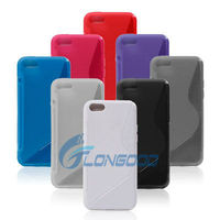 Soft Rubber S TPU Silicone Phone Case for Apple for iPhone 5C