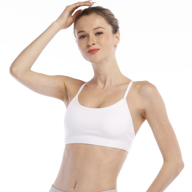 anti-bacterial breathable fitness running sport bra for girls