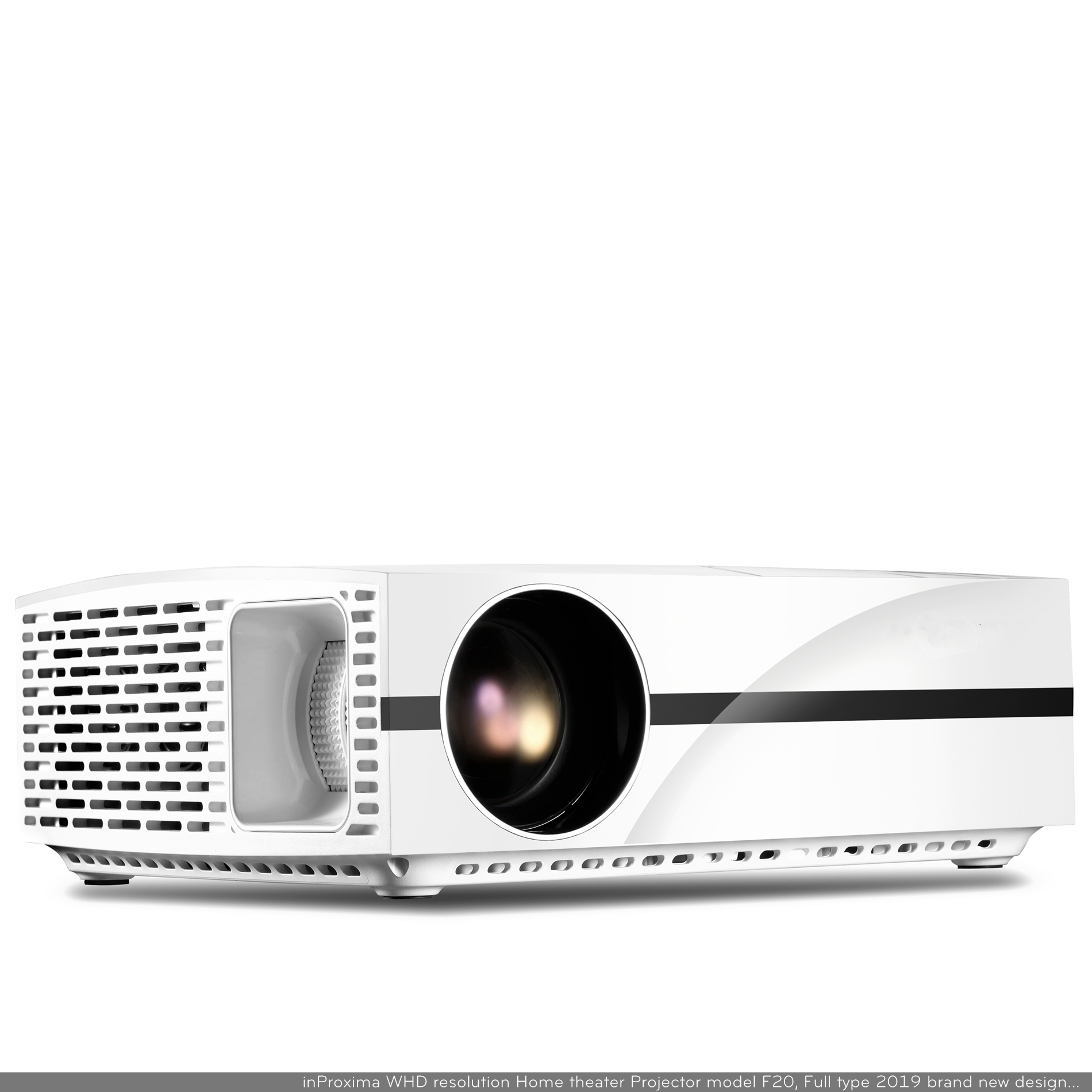 China factory inProxima F20UP 3800 lumens Smart beamer Android 6.0 Long life LED lamp 1920 <strong>x</strong> <strong>1200</strong> support projector