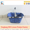 Outdoor leisure production folding oxford shopping basket
