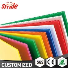 Customized Professional Plastic Corrugated Boxes Large Plastic Sheet