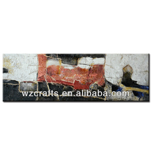 Good sale wall modern european art hand mosque oil famous abstract painting and crafts in gallery