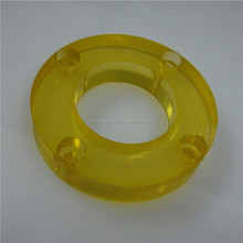 Injection mold high quality plastic part PU CPU TPU rubber sleeve