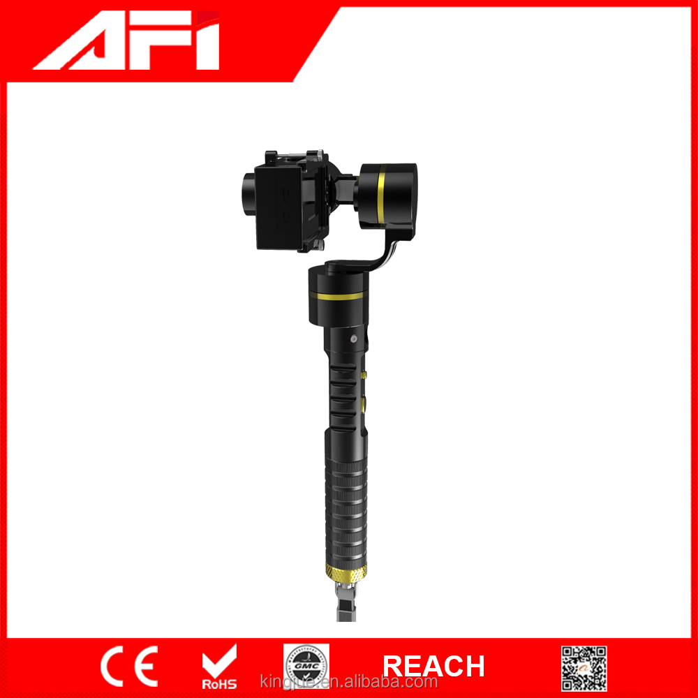 3 way handheld gimbal stabilizer for go pro 3+/4 /xiaoyi /action cameras AFI VS-3SG