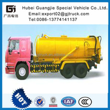 2016 New HOWO China SinoTruck 13m3 Sewage Suction Tank (GJ5250GXWZJ)