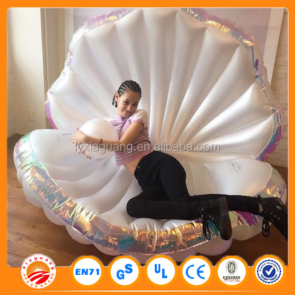2016 New Product Giant Inflatable Unicorn Pool Float Inflatable Seashell
