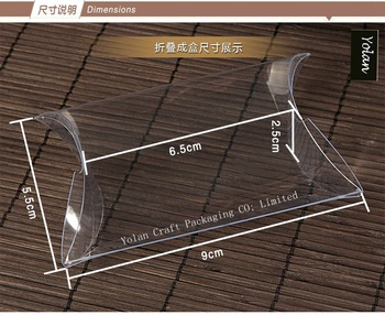 Clear PVC PET PILLOW Box Packaging