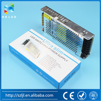 (5V Power Supply Series) AC110V/220V 5V 40A 200W Slim Metal Case Switching Power Supply