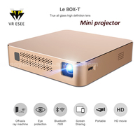 New Design Mini LED Intelligent Home/Office/Education Projector DLP Portable HD Projector