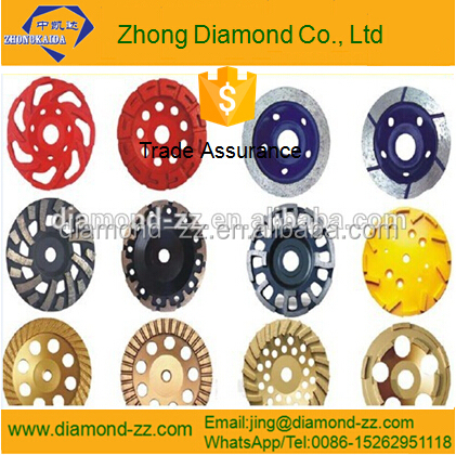 abrasive stone diamond cup grinding wheel, diamond tools for various stones,Jiangsu Province trade assurance