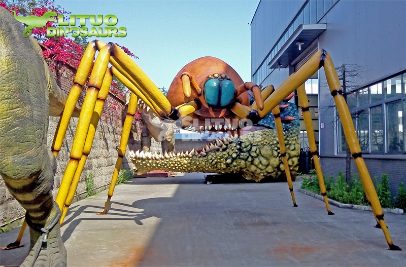 Attractive Park Decoration Giant Insects Spider Model