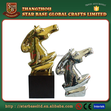Wholesale international film or sports festival metal mini trophy awards