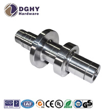 CNC machined auto spares parts,precision finish Stainless steel rollers transmission output shaft/idler shaft/driven shaft