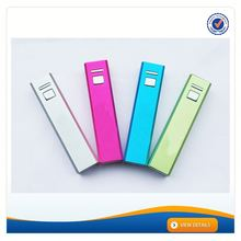 AWC314 Metal 2800mah battery charger emergency power bank 1800 2000 3000 mah lipstick design