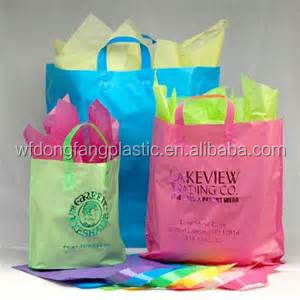 Cheap wholesale reusable shopping bags/plastic grocery bags wholesale/gift bags with personal logo from weifang direct-factory