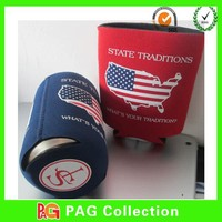 3mm neoprene collapsible can cooler drink holder