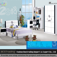 wholesale modern cheap kids bedroom furniture children bed