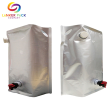 Professional manufacturer plastic packaging standing beer pouch