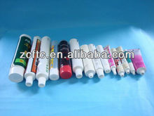 10g laminated tube for pharmaceutical, silver color