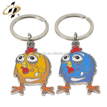 Wholesale zinc alloy custom metal hard enamel emoji keychains on alibaba