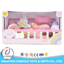 Children favourate toys small silicone baby dolls for girls