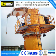 Offshore knuckle boom hydraulic telescopic crane manufacturer