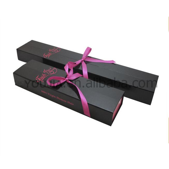 Custom cardboard hair/pen/jewelry/gift paper packaging storage gift box