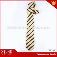 Best quality cheapest wholesale men's striped neckties