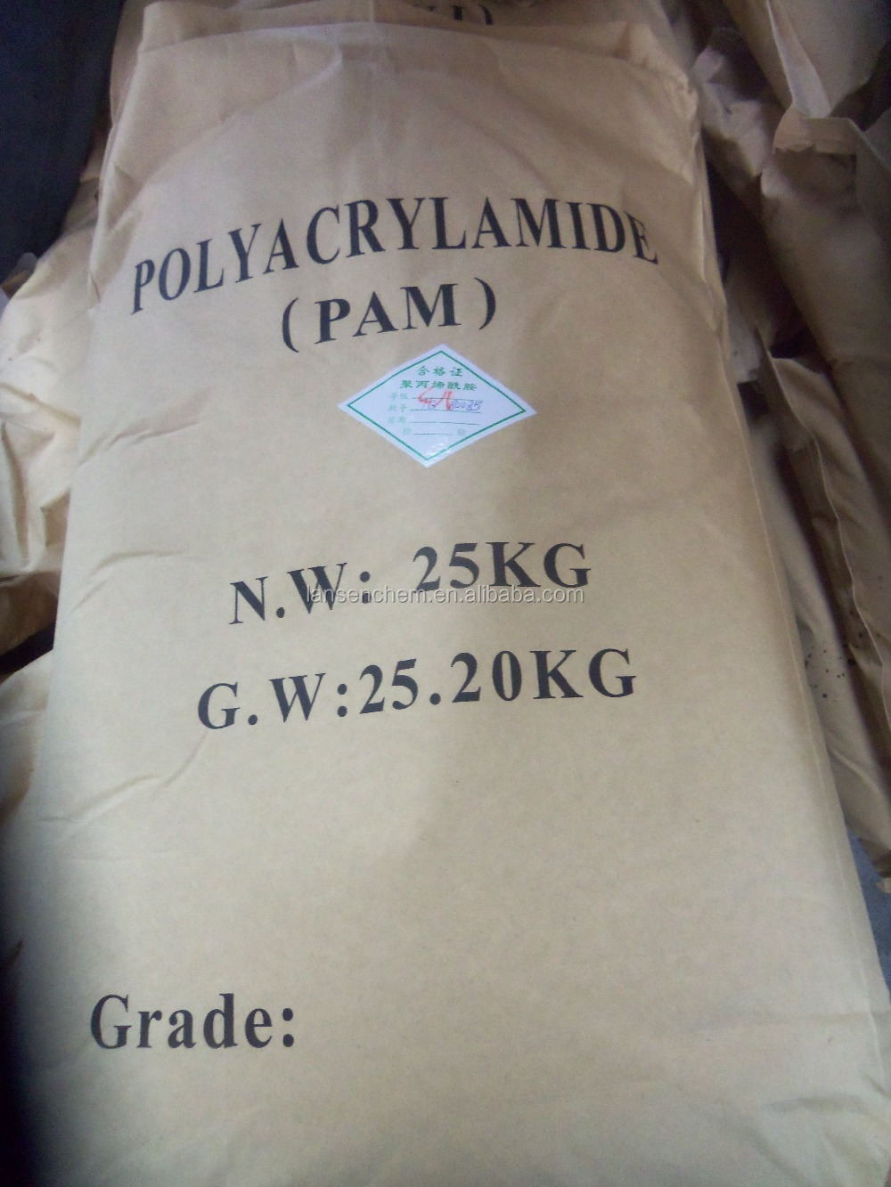 praestol anionic flocculant polyacrylamide for waste water treatment chemical