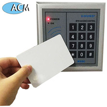 TK4100+Compatable 1K 125Khz +13.56Mhz dual chip frequency proximity plain white RFID Smart card