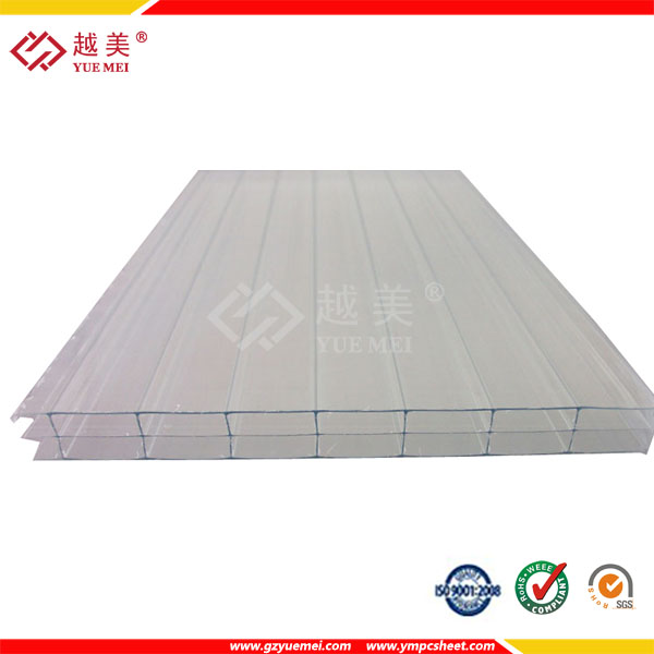 2017 PC Hollow Sheets Danpalon pc sheet for greenhouse skylights materials