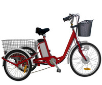 Factory price electric tricycle adult e trike e tricycle for the elderly with 36v 15A controller