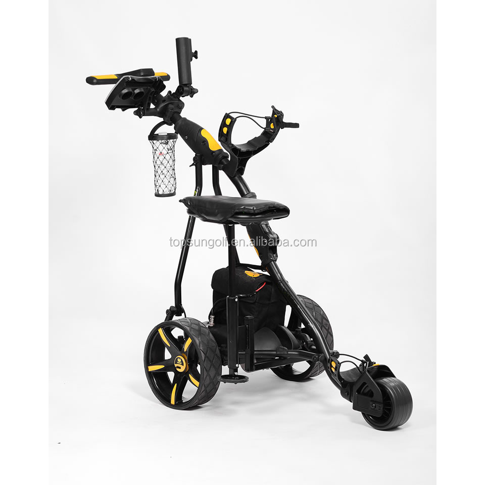 Folding Min Remote Control Golf Carts For Sale Golf Trolley With Seat