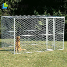 chain link fence kennel for dogs / dog kennel supplies / Box Chain Link Dog Run