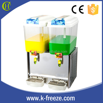 the best sellable 2cylinders fruit juice dispenser