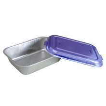 Take-away Smoothwall Aluminium Foil Container/plate/tray With Lid
